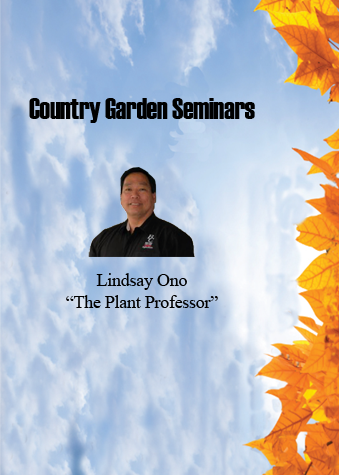 Country Garden Seminars with Lindsay Ono