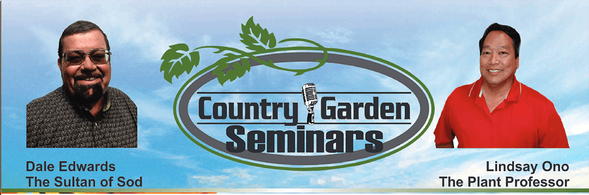 Country Gardens Seminar with Dale Edwards and Lindsay Ono