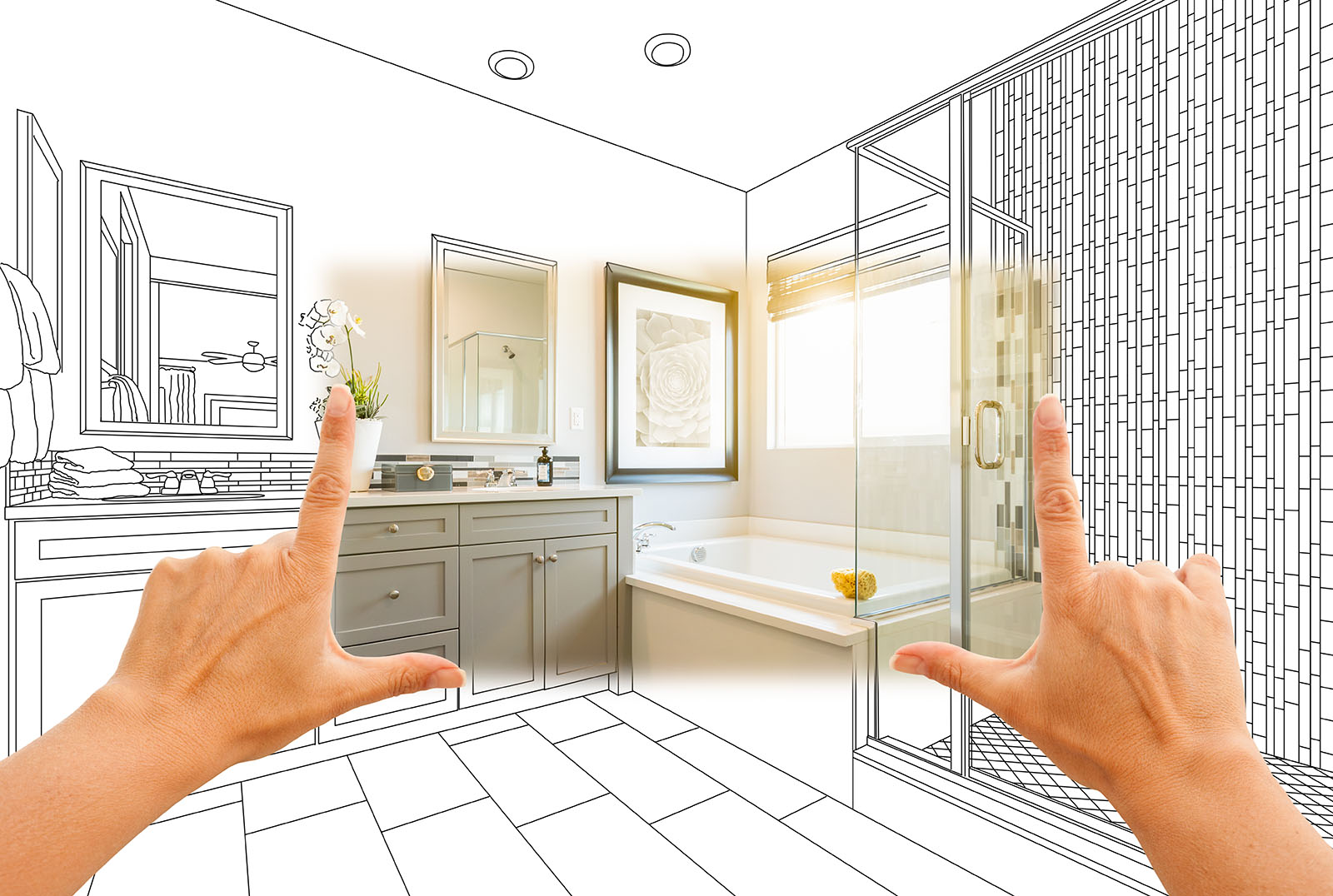 Picturing your bathroom remodel