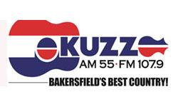 KUZZ Bakersfield radio sponsor logo